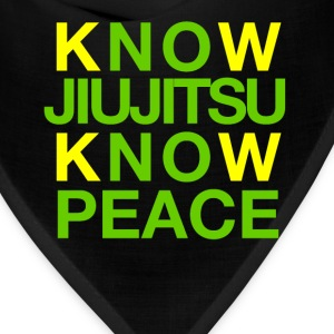 Know Jiujitsu Know Peace - Bandana