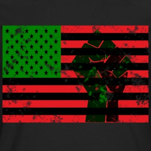 Black Flag T-shirt - Men's Premium Long Sleeve T-Shirt