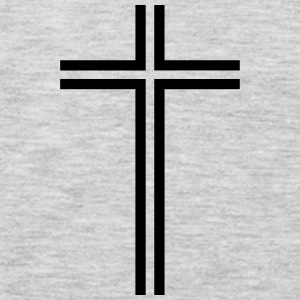 Christian cross - Men's Premium Long Sleeve T-Shirt