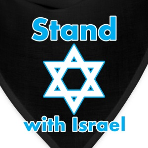I Stand With Israel Now and Forever - Bandana