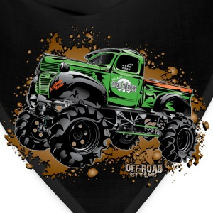 Over Budget Mud Truck Women's T-Shirts - Bandana