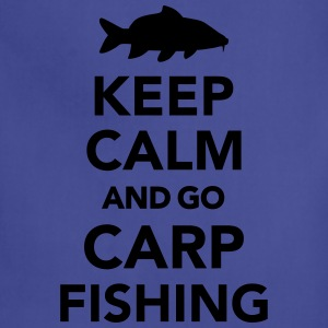 Keep calm and Carp Fishing T-Shirts - Adjustable Apron