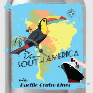 Travel South America Women's T-Shirts - Water Bottle
