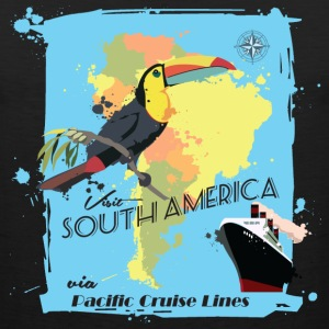 Travel South America T-Shirts - Men's Premium Tank