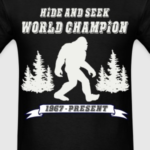 Hide and Seek Champion - Men's T-Shirt