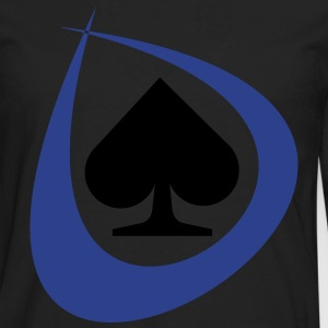 Poker Spades Women's T-Shirts - Men's Premium Long Sleeve T-Shirt