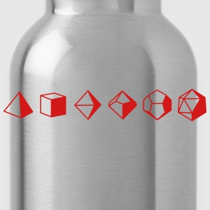 Dice Evolution d20 Dungeons & Dragons - Water Bottle