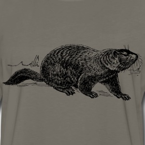 Ground hog - Men's Premium Long Sleeve T-Shirt