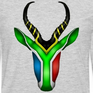 South African Springbok 2 T-Shirts - Men's Premium Long Sleeve T-Shirt