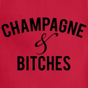 champagne Women's T-Shirts - Adjustable Apron