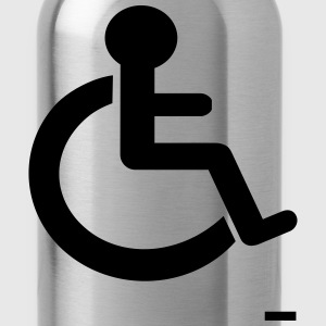 Disability Sign - Water Bottle
