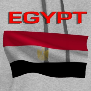Flag Of Egypt T-Shirts - Contrast Hoodie