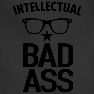 Intellectual Bad Ass Nerd - Adjustable Apron
