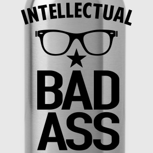 Intellectual Bad Ass Nerd - Water Bottle