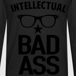 Intellectual Bad Ass Nerd - Men's Premium Long Sleeve T-Shirt