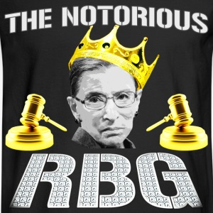 Funny - The Notorious RBG - Men's Long Sleeve T-Shirt
