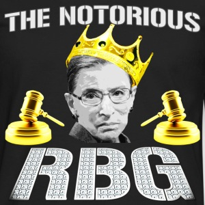Funny - The Notorious RBG - Men's Premium Long Sleeve T-Shirt