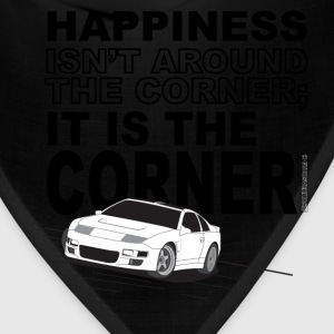 Corner of Happiness - Dark Text - Bandana
