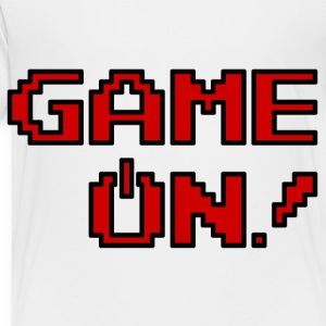 Game On.png Kids' Shirts - Toddler Premium T-Shirt
