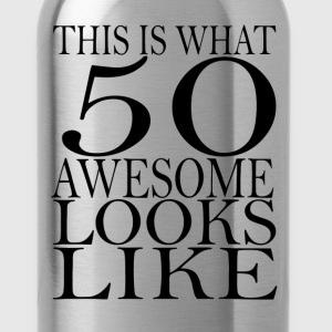 funny 50 birthday - Water Bottle