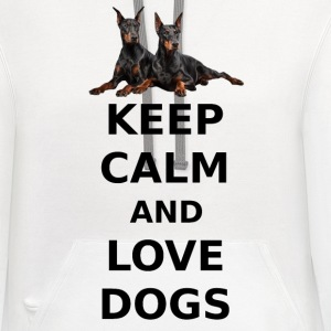 LOVE DOGS Phone & Tablet Cases - Contrast Hoodie