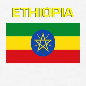 Flag of Ethiopia Bottles & Mugs - Men's T-Shirt