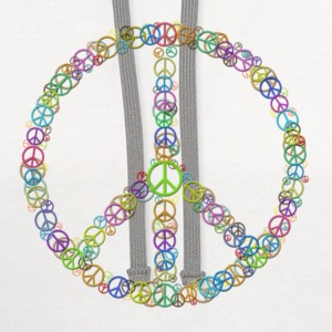 Peace Sign of Peace Signs Women's T-Shirts - Contrast Hoodie