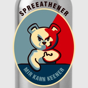 Spreeathener teddy o bear (DDP) T-Shirts - Water Bottle