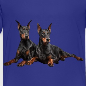 Dobermans Kids' Shirts - Toddler Premium T-Shirt
