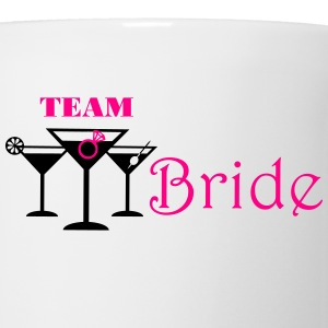team bride cocktails with ring Tanks - Coffee/Tea Mug