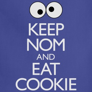 Keep Nom And Eat Cookie T-Shirts - Adjustable Apron
