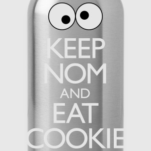 Keep Nom And Eat Cookie T-Shirts - Water Bottle