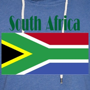 South African Flag Women's T-Shirts - Unisex Lightweight Terry Hoodie