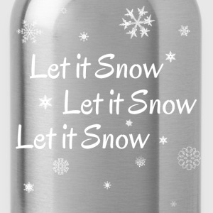 LetItSnowWithSnowWhitecop T-Shirts - Water Bottle