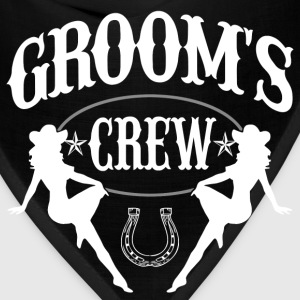 Old West Bachelor Party - Groom's Crew Version - Bandana