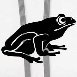 Frog T-Shirts - Contrast Hoodie