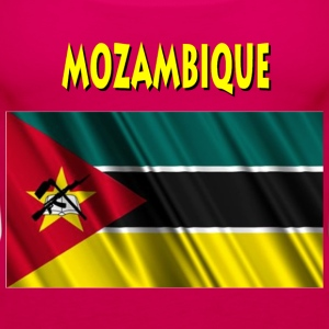 Mozambican Flag T-Shirts - Women's Premium Tank Top