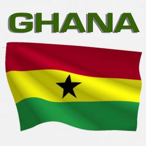Ghanaian Flag Bottles & Mugs - Men's Premium T-Shirt