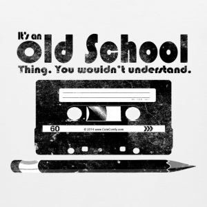 Old School Thing Cassette Retro 80s T-Shirts - Men's Premium Tank