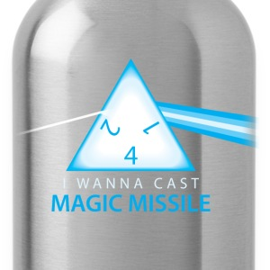 Dungeons & Dragons Pink Floyd d4 Magic Missile - Water Bottle