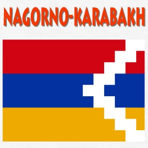 Nagorno-Karabakh Flag Bottles & Mugs - Men's T-Shirt