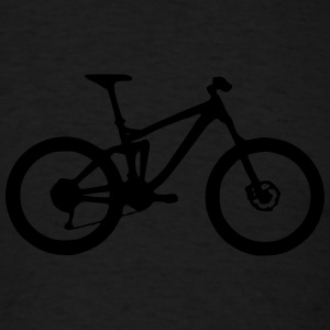 Full Suspension Mountain Bike Hoodies - Men's T-Shirt