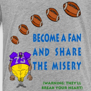 Football Fan Kids' Shirts - Toddler Premium T-Shirt