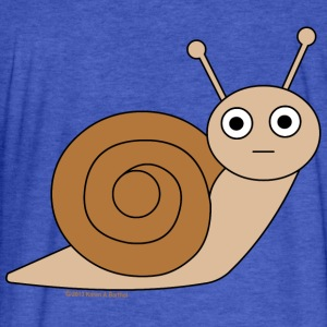 Snail Sweatshirts - Fitted Cotton/Poly T-Shirt by Next Level