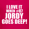 JORDY GOES DEEP! - Kids' Premium T-Shirt