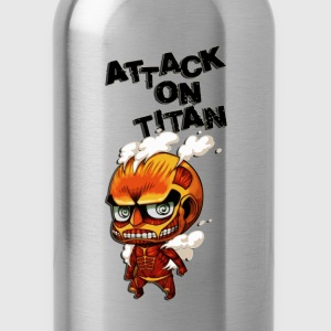attack on titan cute - Water Bottle