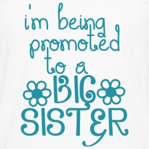 Promoted To A Big Sister - Men's Premium Long Sleeve T-Shirt