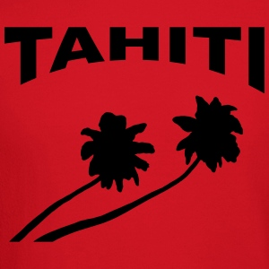 Tahiti - palm trees T-Shirts - Crewneck Sweatshirt