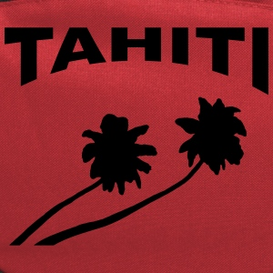 Tahiti - palm trees Women's T-Shirts - Computer Backpack