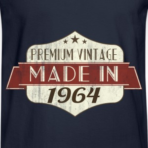 Vintage 1964 50th Birthday Hoodies - Men's Long Sleeve T-Shirt